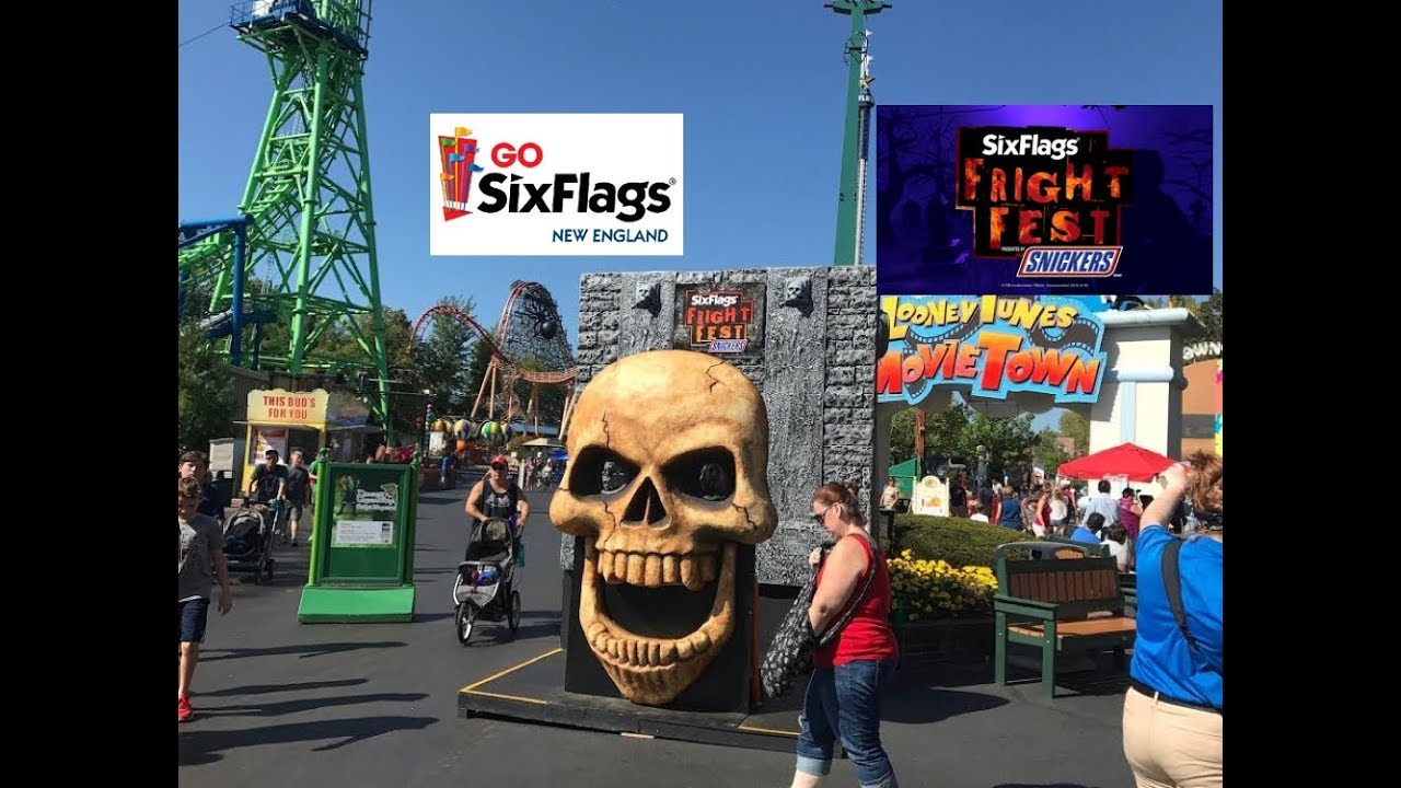 Six Flags New England September 24 2017 Fright Fest