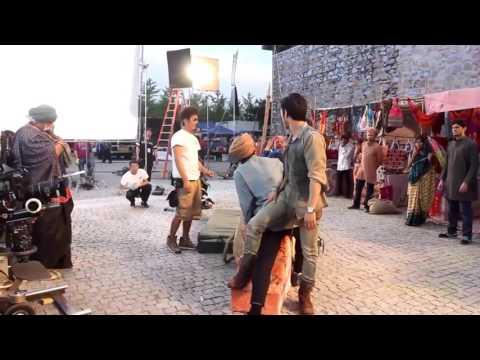 Aarif   KungFu Yoga behind the scenes