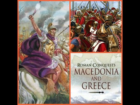 Review as Read 54: Roman Conquest: Macedonia and Greece by Phillip Matyszak