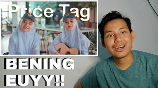 Gambar cover JESSIE J - PRICE TAG (COVER & LYRICS CHERYLL, RISMA) MADDI JANE VERSION | REACTION