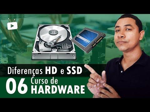 Curso de Hardware #06 - Diferença entre HD e SSD