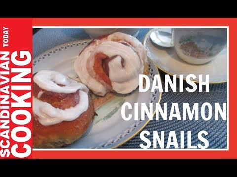 How To Make Delicious Danish Cinnamon Snails 😋 Kanelsnegle Opskrift