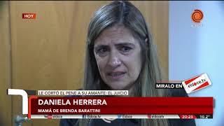 """La madre de Brenda Barattini: """"Mi hija fue vulnerada y es una víctima"""""""