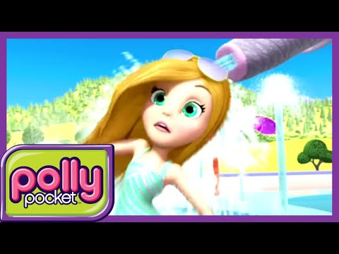 Polly Pocket full episodes | Splash Dash - Summer is coming 🌈Compilation | Kids Movies | Girls Movie