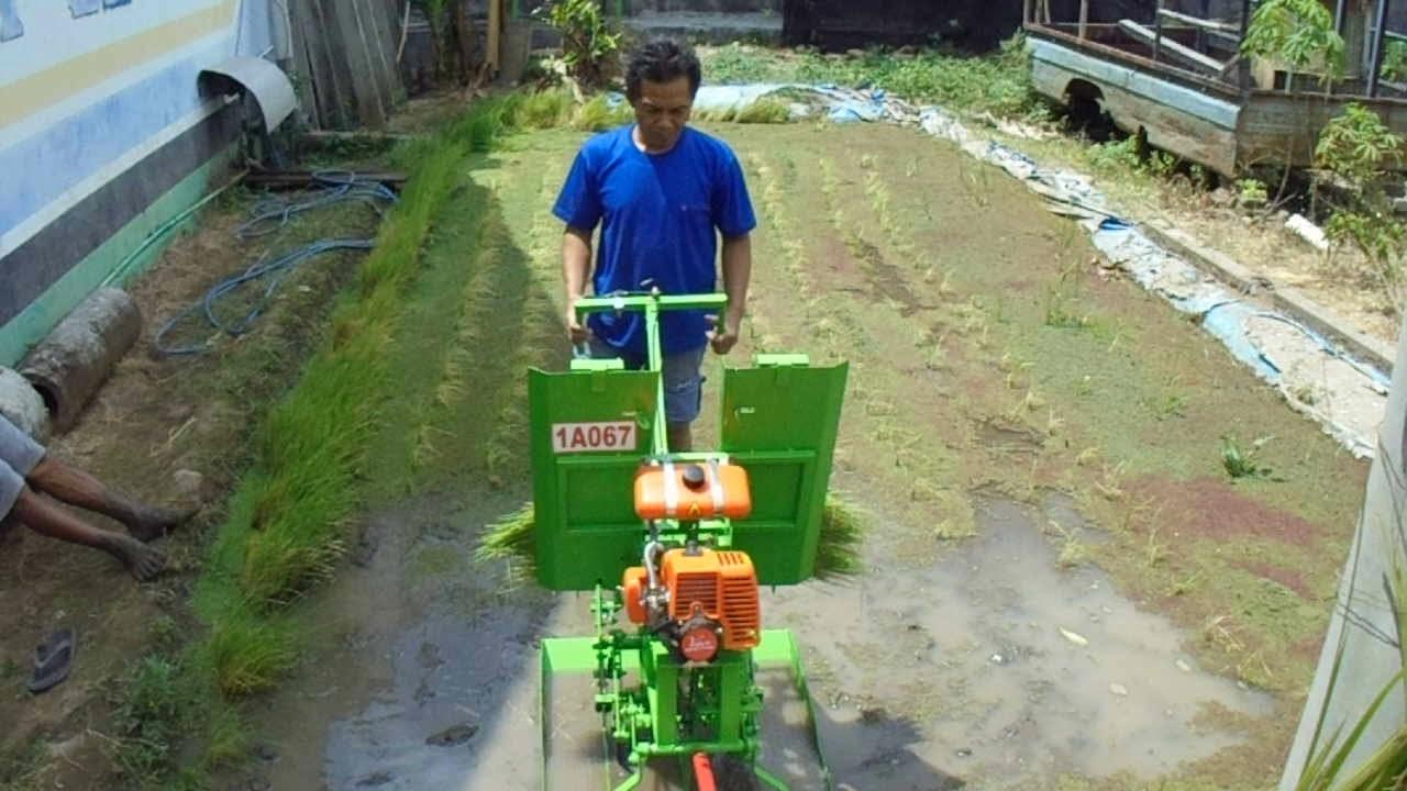 Review Tes Mesin Tanam Padi Sederhana 1a067 Simple Home Made Diy Rice Transplanter Youtube