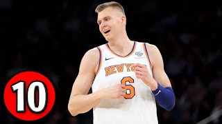 Kristaps porzingis - top 10 rookie plays