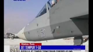 Begini Penampakan Jet Tempur Termutakhir Rusia T-50 Yang Mampu Hindari Radar Siluman - BIP 21/12