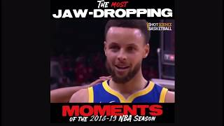 The Most Jaw-Dropping Moments of 2018 - 2019 NBA SEASON
