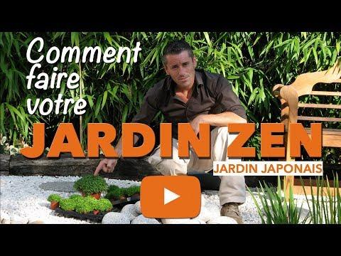 Jardin zen-Comment faire un petit jardin japonais ? - YouTube