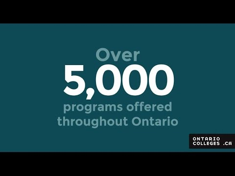 Applying to College: Ontario High School Students