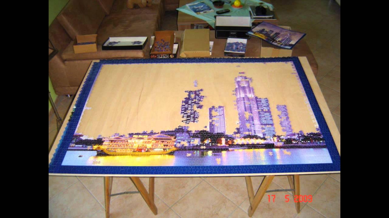 Puzzlebau Mit 18000 Teilen Skylines Der Welt