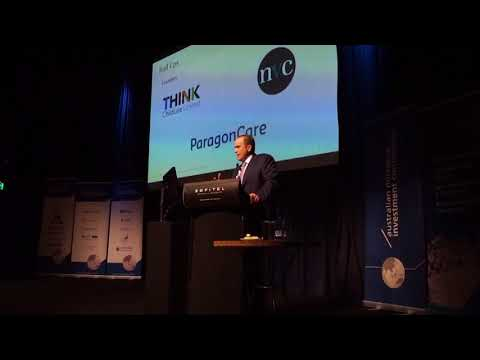 Michael Glennon at the Australian Microcap Conference 2017 |