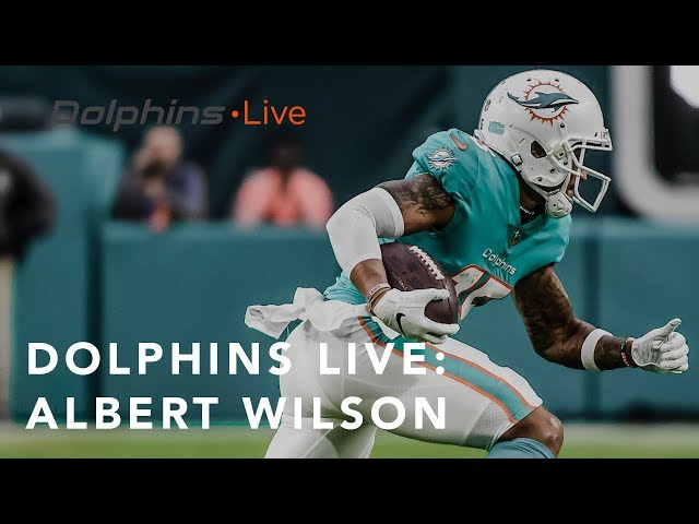 Albert Wilson is picking up on the playbook | Miami Dolphins