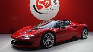 フェラーリ J50 、日本への正規輸入から50年を記念した特別車!その...