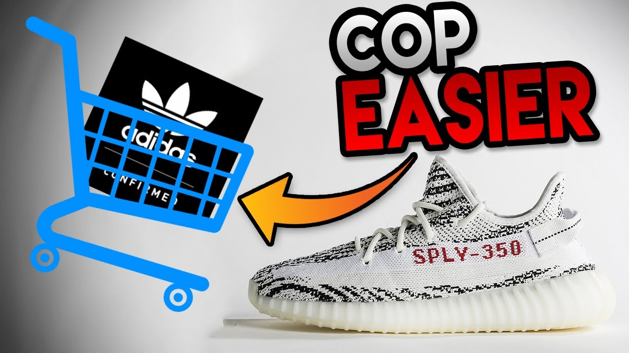 MUST SEE  ADIDAS IS MAKING THE YEEZY BOOST 350 V2 ZEBRA S EASIER TO GET!!!  ( ANTI-BOT SYSTEM! ) d68849dc6