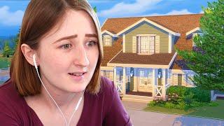 Я построила идеальный дом для челленджа 100 детей в The Sims 4