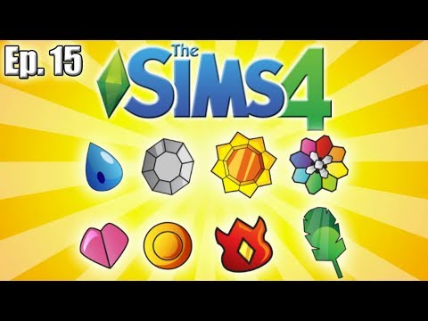 I HAVE ALL 8 GYM BADGES!! Now What? - The Sims 4: Pokemon Theme (Gen 1) - Ep. 15