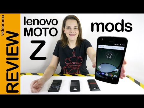 Lenovo Moto Z (Play) + Mods Hasselblad, JBL, picoproyector review en español | 4K UHD
