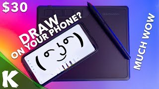 Drawing Tablet On Your Phone? | GAOMON S620 Review