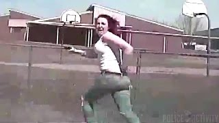 Dashcam Shows Wanted Woman Get Run Over After Firing At Police