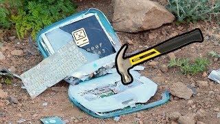 Bored Smashing - iBook G3 CLAMSHELL!