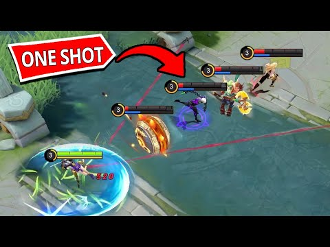 *ONE-SHOT*FANNY MAKE A ONE-SHOT MANIAC !!! - Mobile Legends Funny Fails And WTF Moments! #3
