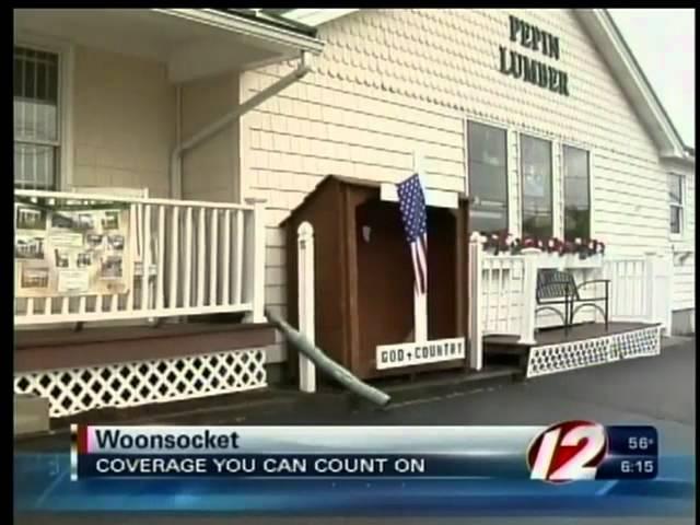 Local lumber yard holds cross sale
