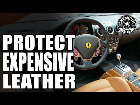 How To Clean And Condition Leather Seats - Ferrari F430 - Chemical Guys Car Care