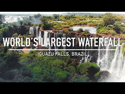 Iguazu Falls, Brazil // Cinematic Travel Video // Sony a6500