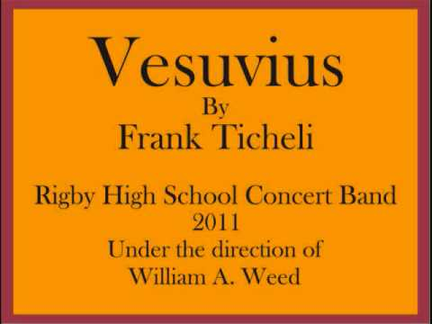 """""""Vesuvius"""" by Frank Ticheli performed by Rigby High School Concert Band"""