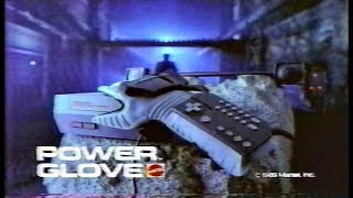 Nintendo Power Glove Mattel Commercial 1989