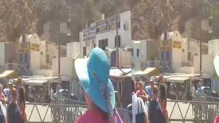 остров Тира (Фира, Санторин, Санторини) вулканического происхождения в Эгейском море(, 2014-08-31T14:06:21.000Z)