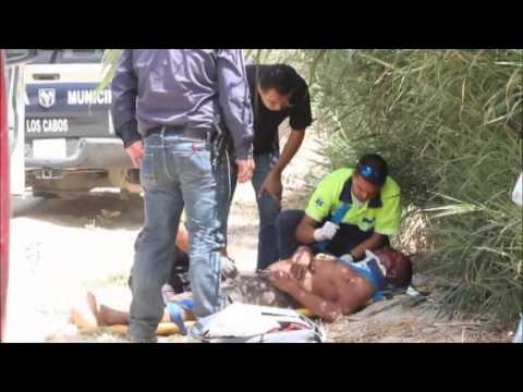 Localizan hombre torturado en arroyo de SJC y encuentran un cuerno de chivo