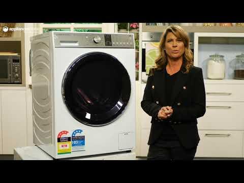 Fisher & Paykel WH1260P1 12kg WashSmart Front Load Washing Machine