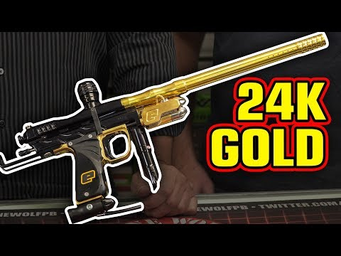 Most Expensive Paintball Gun Ever?   Supercocker Cesare Pizzo   Classic Paintball Gear