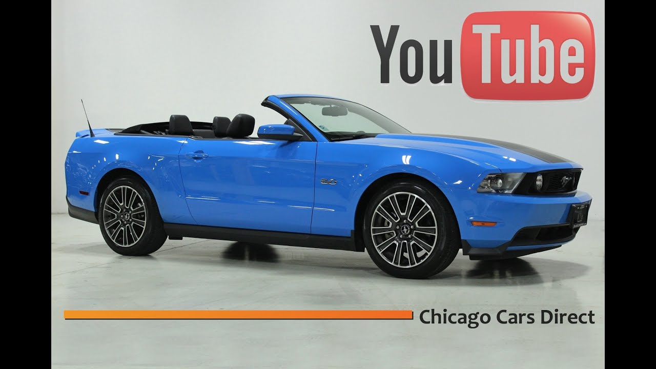 Chicago Cars Direct Presents A Ford Mustang GT Convertible - Sports cars direct