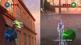 LEGO® MARVEL's Avengers Speed and Quicksilver free roam gameplay