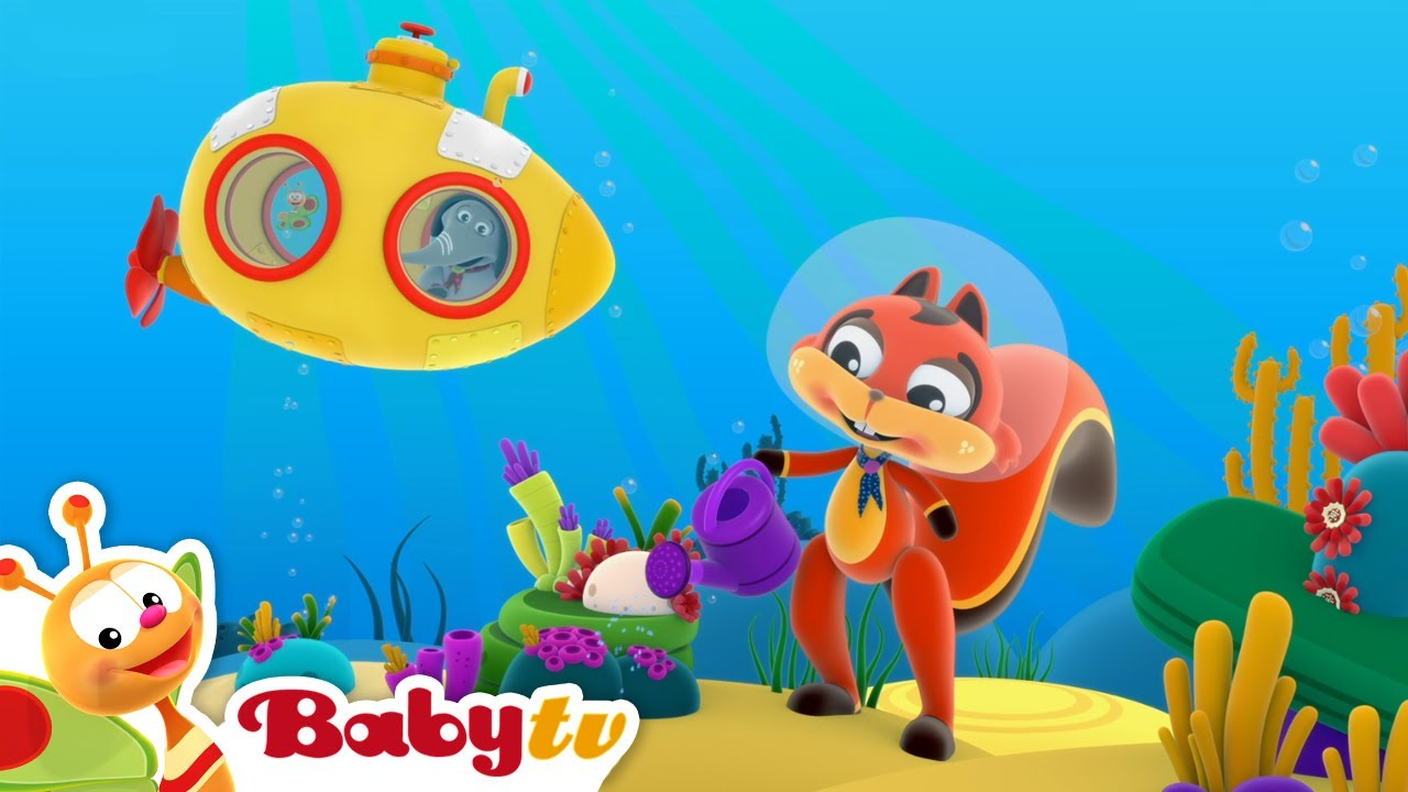 Download Hole in the Middle of the Sea 🐟🐠 | Nursery Rhymes & Songs for Kids | BabyTV