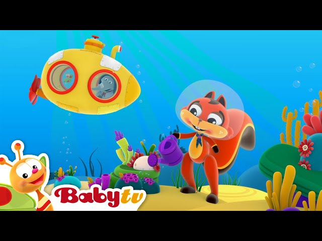 Hole in the Middle of the Sea 🐟  (Remastered with Lyrics) | Nursery Rhymes & Songs for Kids | BabyTV