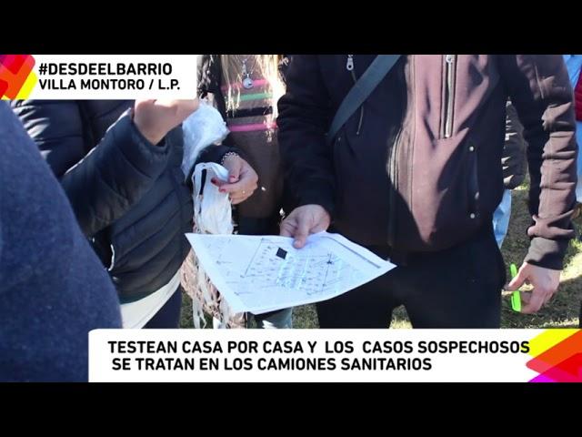 #DesdeElBarrio - Villa Montoro, Voluntarixs UNLP realizan el tercer operativo  DETECTAR.