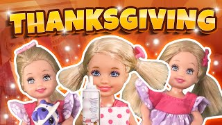 Barbie - Thanksgiving and the Three Tiny Troublemakers