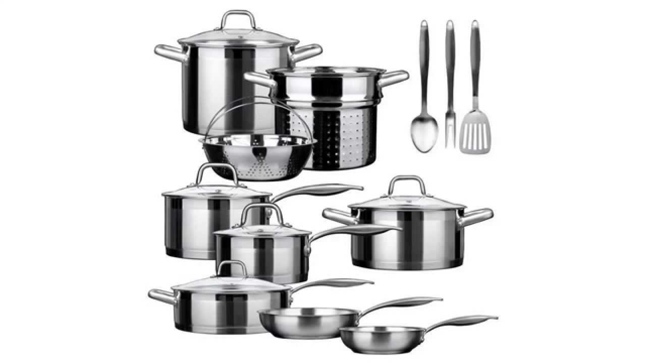 best stainless steel cookware set reviews