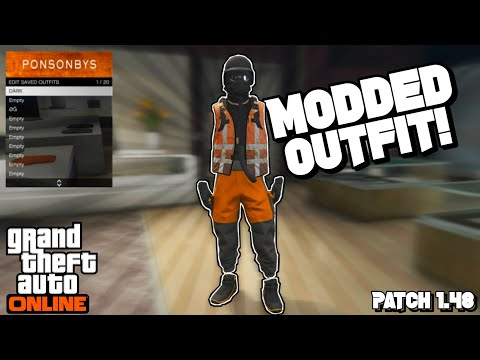 *EASY* How To Make A Invisible TryHard Modded Outfit W/ Trash Vest \u0026 Gorka Joggers After Patch 1.48