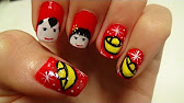 Lunar chinese new year nail art tutorial youtube 600 prinsesfo Gallery