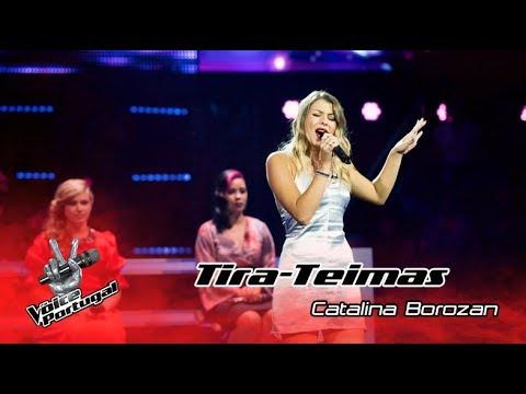 "Catalina Borozan - ""Stop"" | Tira-Teimas | The Voice Portugal"
