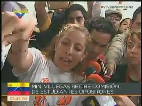 El rifirrafe entre Ernesto Villegas y Rafaela Requesens en VTV