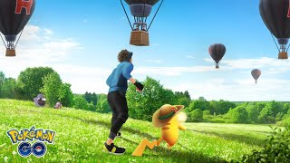 Watch Team Rocket Hot Air Balloons In-Game