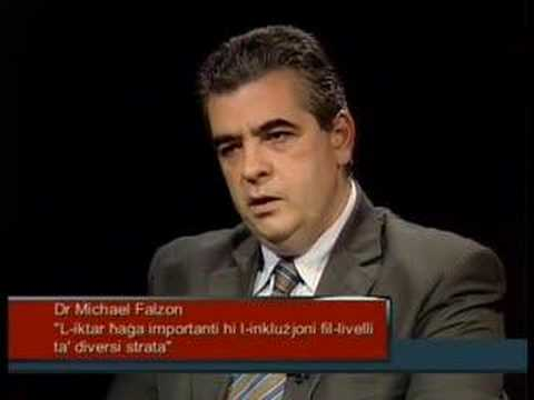 REPORTER - Dr Michael Falzon - 14 April 2008