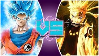 Gambar cover GOKU vs NARUTO REMASTERED! (Naruto vs Dragon Ball Super) | REWIND RUMBLE