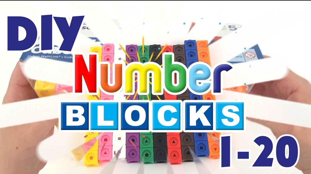 DIY Numberblocks 1-20 | Playtime Club TV